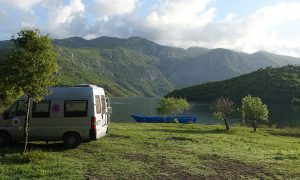 Agora Farmhouse Camping in Albaniens Norden