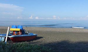 Black Sea Camping in Georgien