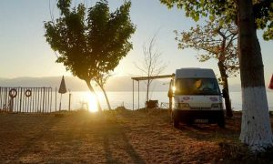 Camping Petalidi in Griechenland