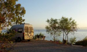 Camping Tserfos in Griechenland